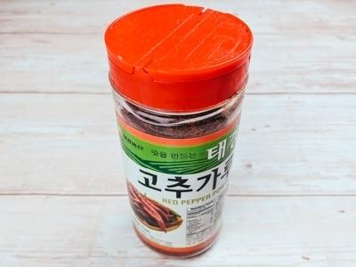 gochugaru, poudre de piment coreenne