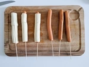hot dog etape 6