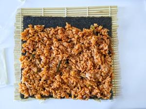 kimbap piquant etape 11