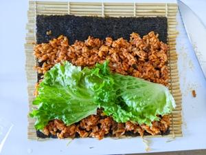 kimbap piquant etape 13