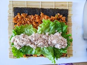 kimbap piquant etape 14