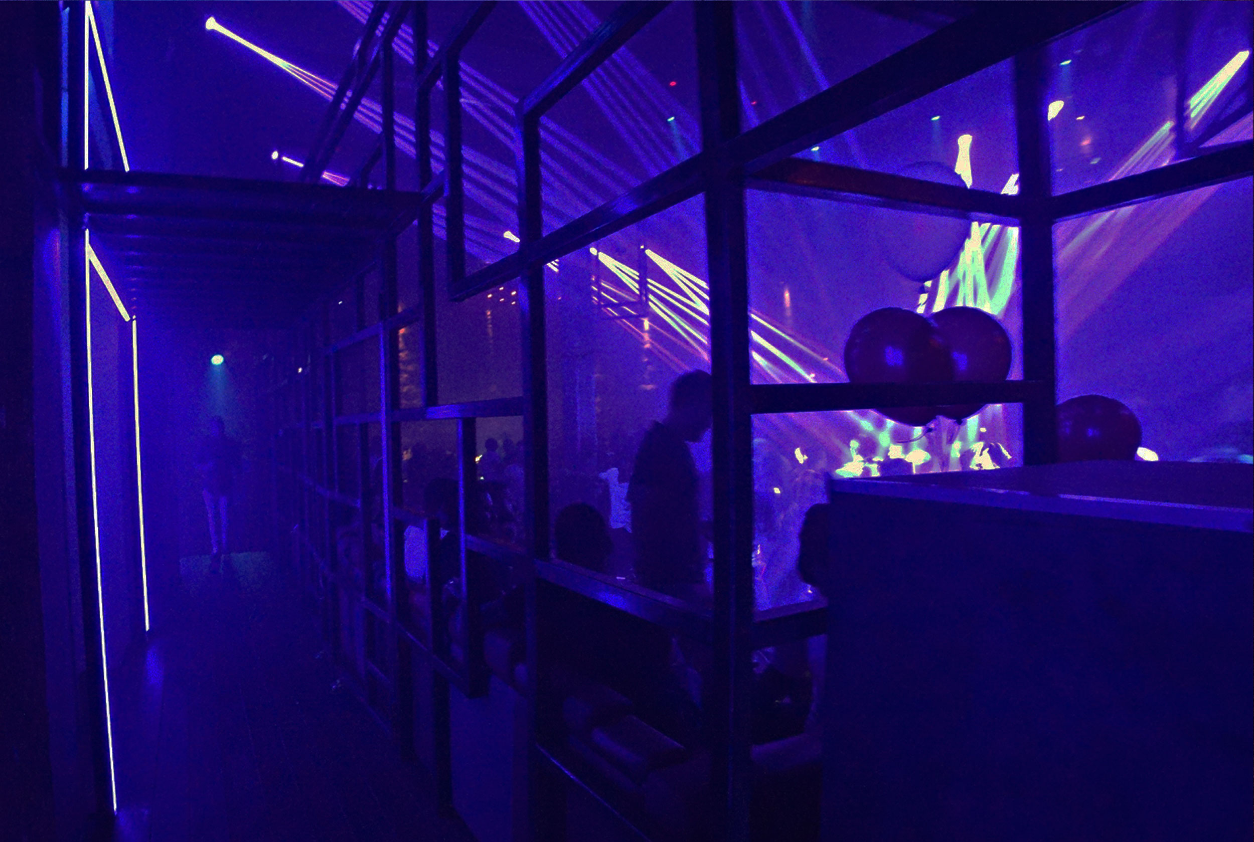 night club interior design - entrance