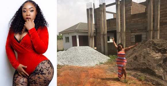 Ghanaian actress Moesha Boduong accused of sleeping with married men after  showing off new house - YUP.NG