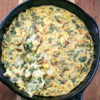 Hot Vegan Spinach Artichoke Dip