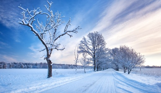 雪景色の意味と英語での表現は?類義語の雪化粧との違いは?