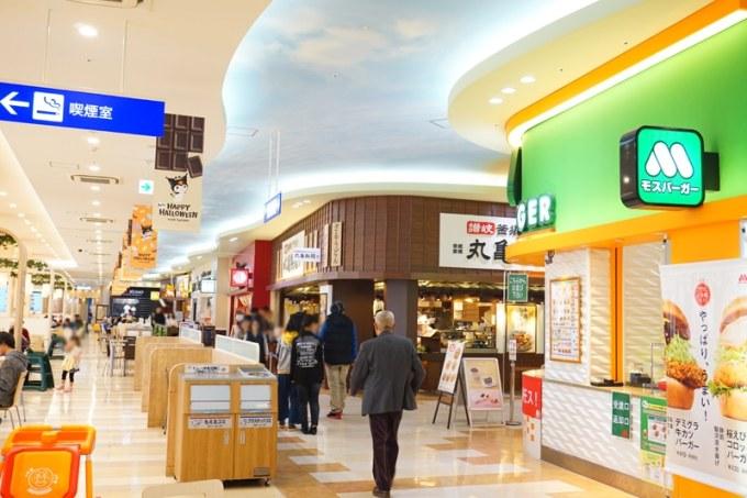 アリオ上田 フードコートの店舗