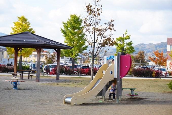 篠ノ井中央公園 すべり台幼児用