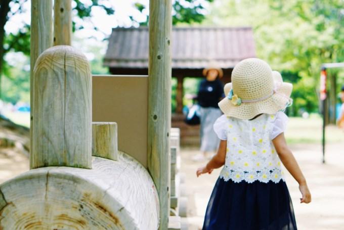小布施総合公園 木製遊具
