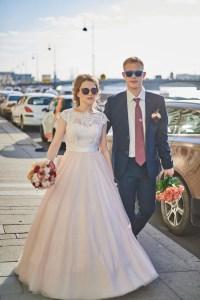 фотограф на свадьбу, молодожены