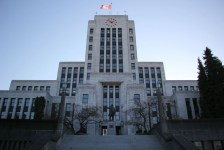 Vancouver City Hall. Photograph by Yolanda Cole.