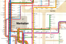 Excerpt of the New York Subway Map