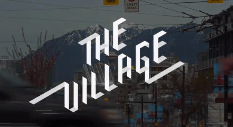 Screenshot form 'The Village' tralier