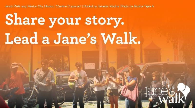 Lead a Jane's Walk