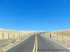 approaching Sierra Rd summit