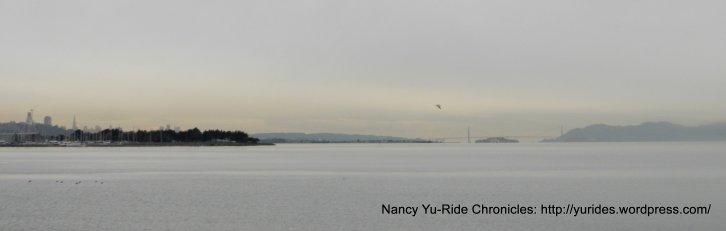 view of SF & Golden Gate Bridge