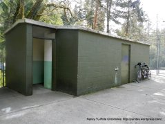 restrooms at the park
