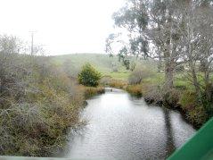 crossing Lagunitas Creek