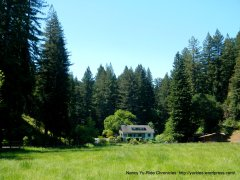 tucked away farm house