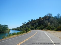 glimpse of Lake Solano