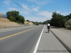gentle grades on Dublin Canyon Rd