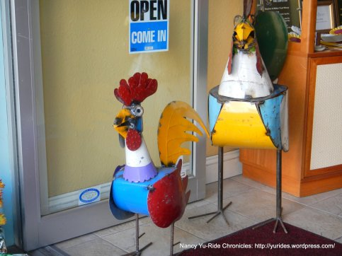 welcome roosters