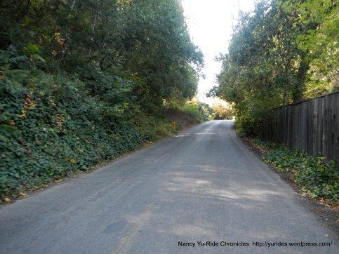 steep half mile climb