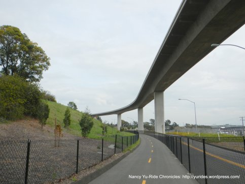 to Benicia-Martinez Bridge xing