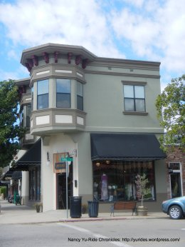 Circa 1903/1911-simplified renaissance revival commercial structure with a western front pediment
