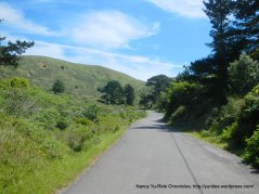 Coleman Valley Rd-steep climb