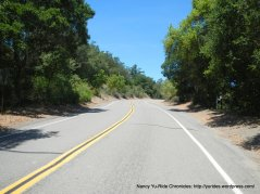 climb up south Redwood Rd to Marciel Gate