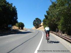 steep climb up Deer Hill Rd