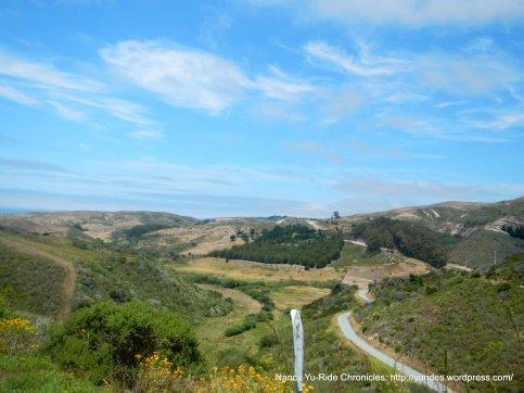 pescadero valley view