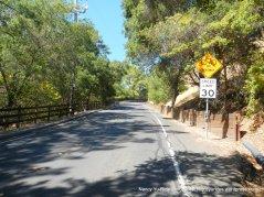 steep climb reliez valley rd