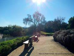 sitting bench-el camino real