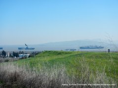 suisun bay views-mothball fleet