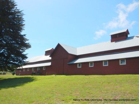 bear valley visitor center barn