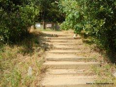 steps to trail gate