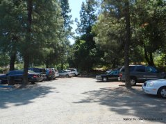 park & ride lot