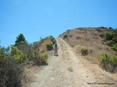 steep climb-ramage peak