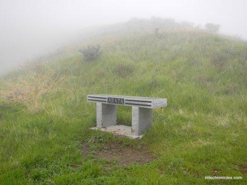 arata overlook memorial bench