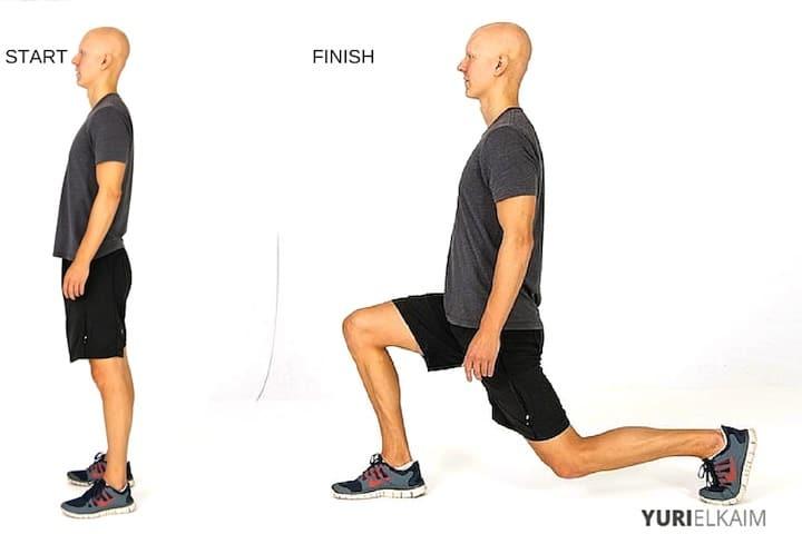 Best Fat Burning Leg Exercises - Forward-Backward Lunges