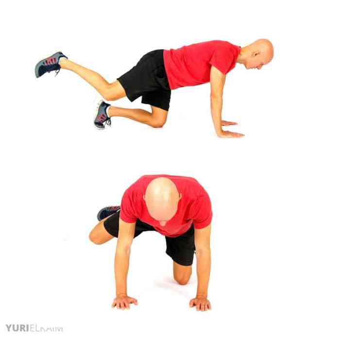 Dynamic Warm-up Exercises - Fire Hydrant Circles