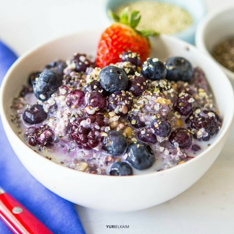 Healthy Breakfast: Fiber Starter Cereal Bowl