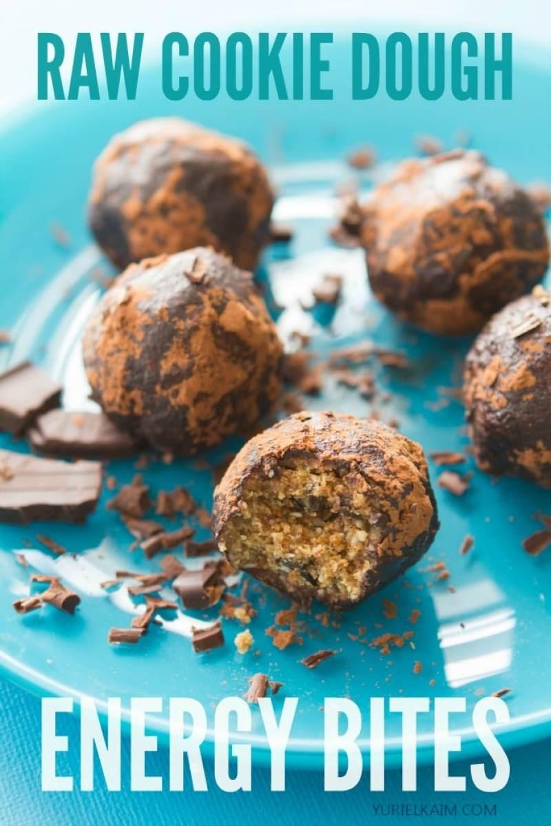 Energy-Boosting Cookie Dough Bites