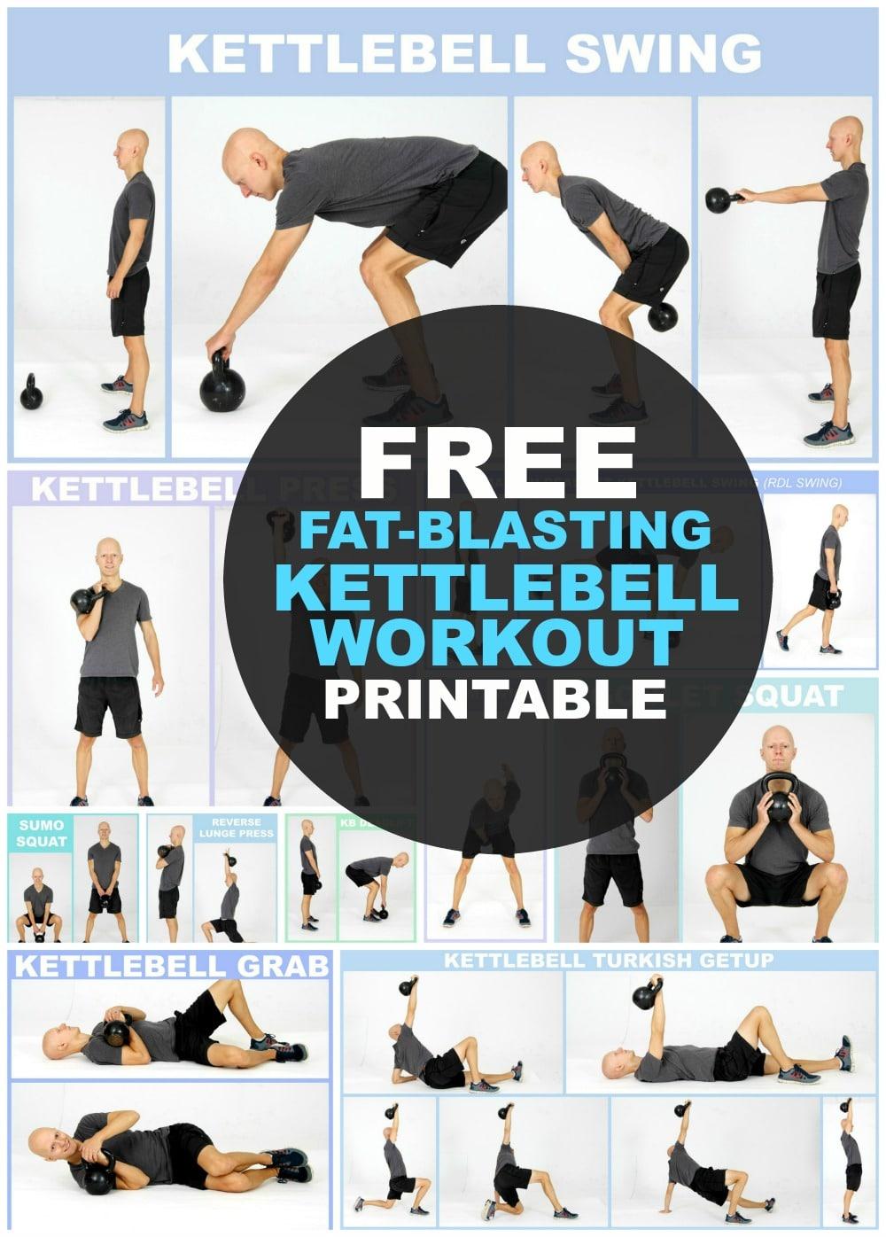 KETTLEBELL / ГИРЯ: BEST Kettlebell Full Body Workout ...