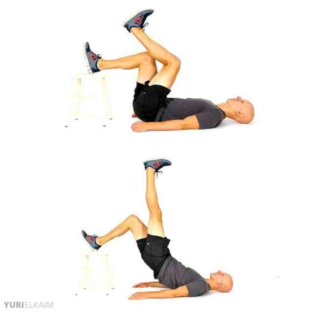 10 Best Bodyweight Exercises - Hamstring Push-Offs