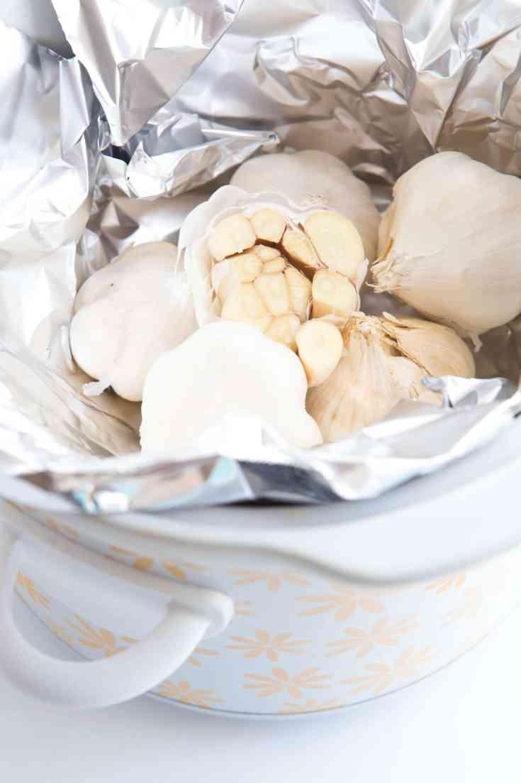 Slow Cooker Garlic Soup Recipe