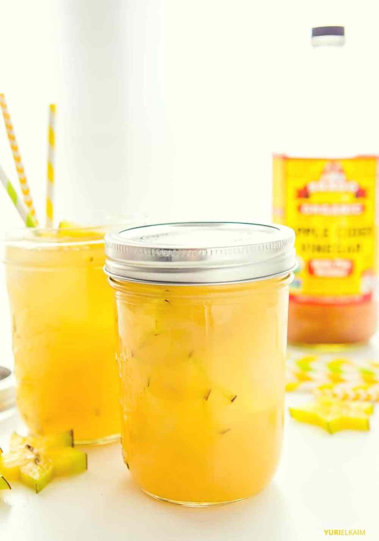 Hawaiian Apple Cider Vinegar Drink   Yuri Elkaim