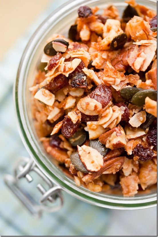 Grain-Free Granola - The Primalist