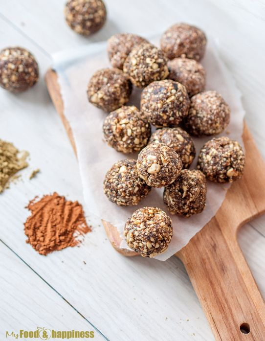 Perfect Protein Energy Balls - My Food and Happiness